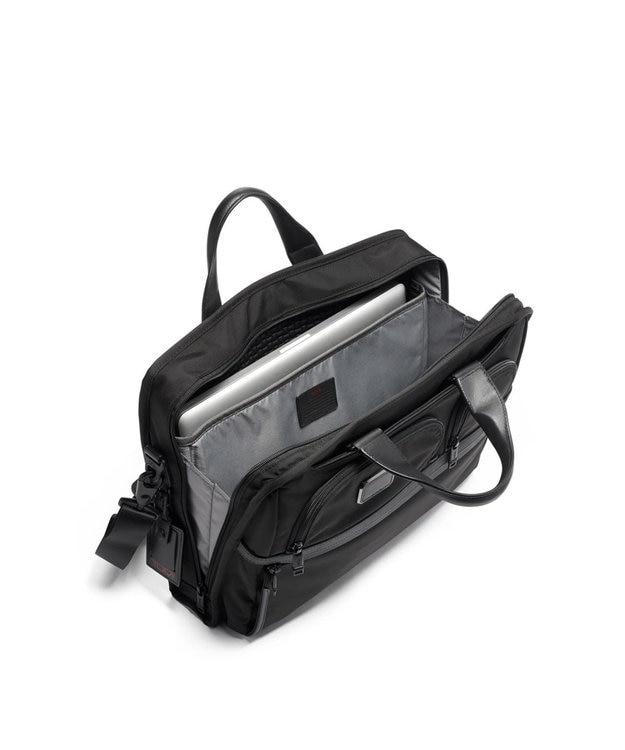 TUMI メンズ  TUMI ALPHA3 コンパクト・ラージ・スクリーン・ラップトップ・ブ