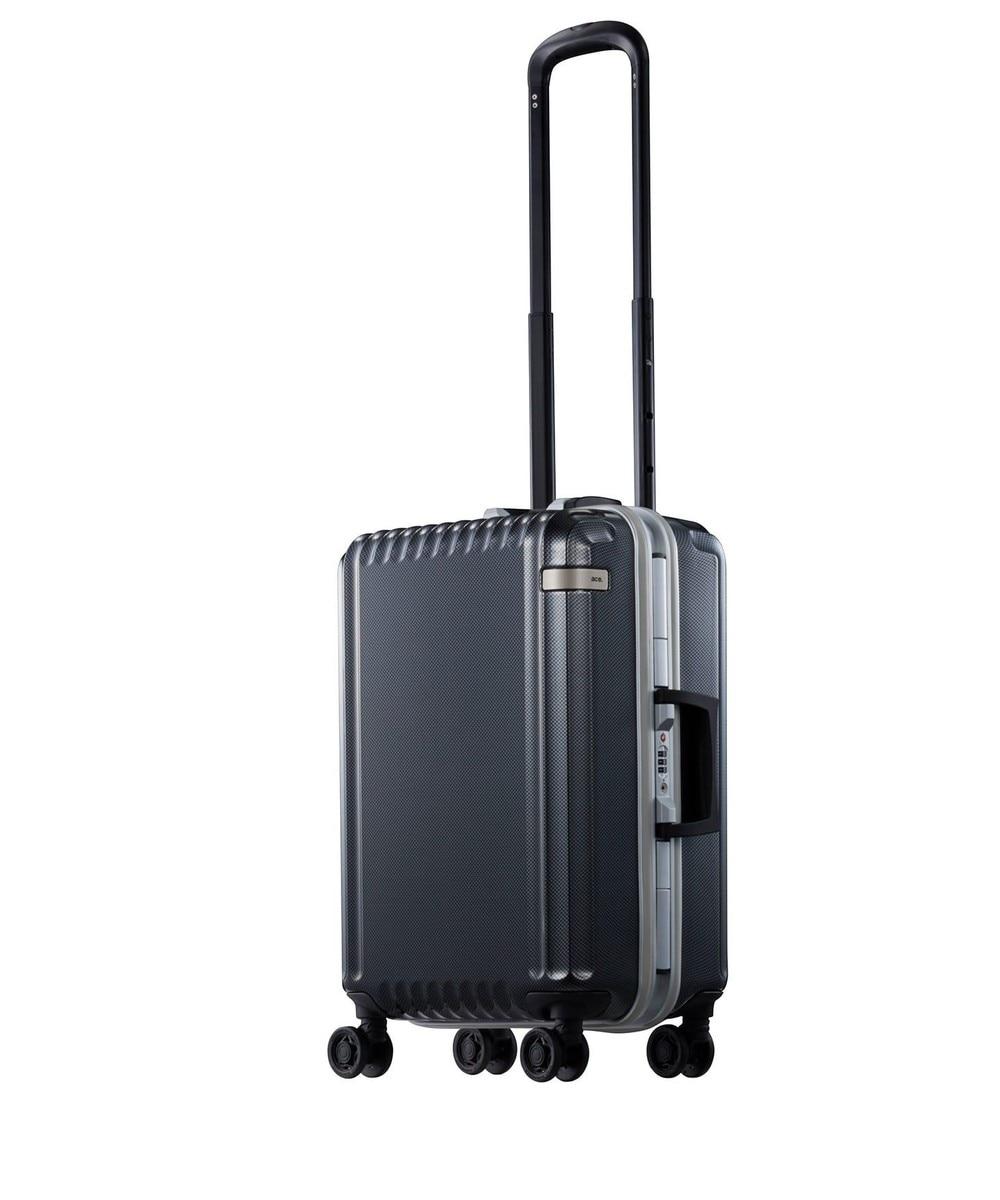 【オンワード】 ACE BAGS & LUGGAGE>バッグ ace. パリセイドF 32L 機内持込加スーツケース 2〜3泊のご旅行 フレー ホワイト F レディース 【送料無料】