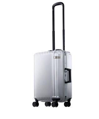 ACE BAGS & LUGGAGE ace. パリセイドF  32L 機内持込加スーツケース 2~3泊のご旅行 フレー ホワイト