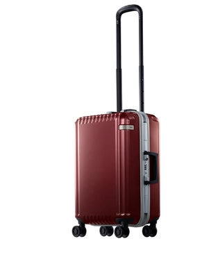 ACE BAGS & LUGGAGE ace. パリセイドF  32L 機内持込加スーツケース 2~3泊のご旅行 フレー レッド