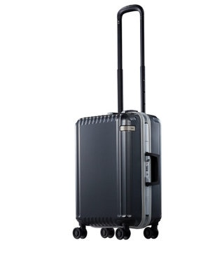 ACE BAGS & LUGGAGE ace. パリセイドF  32L 機内持込加スーツケース 2~3泊のご旅行 フレー ガンメタリック