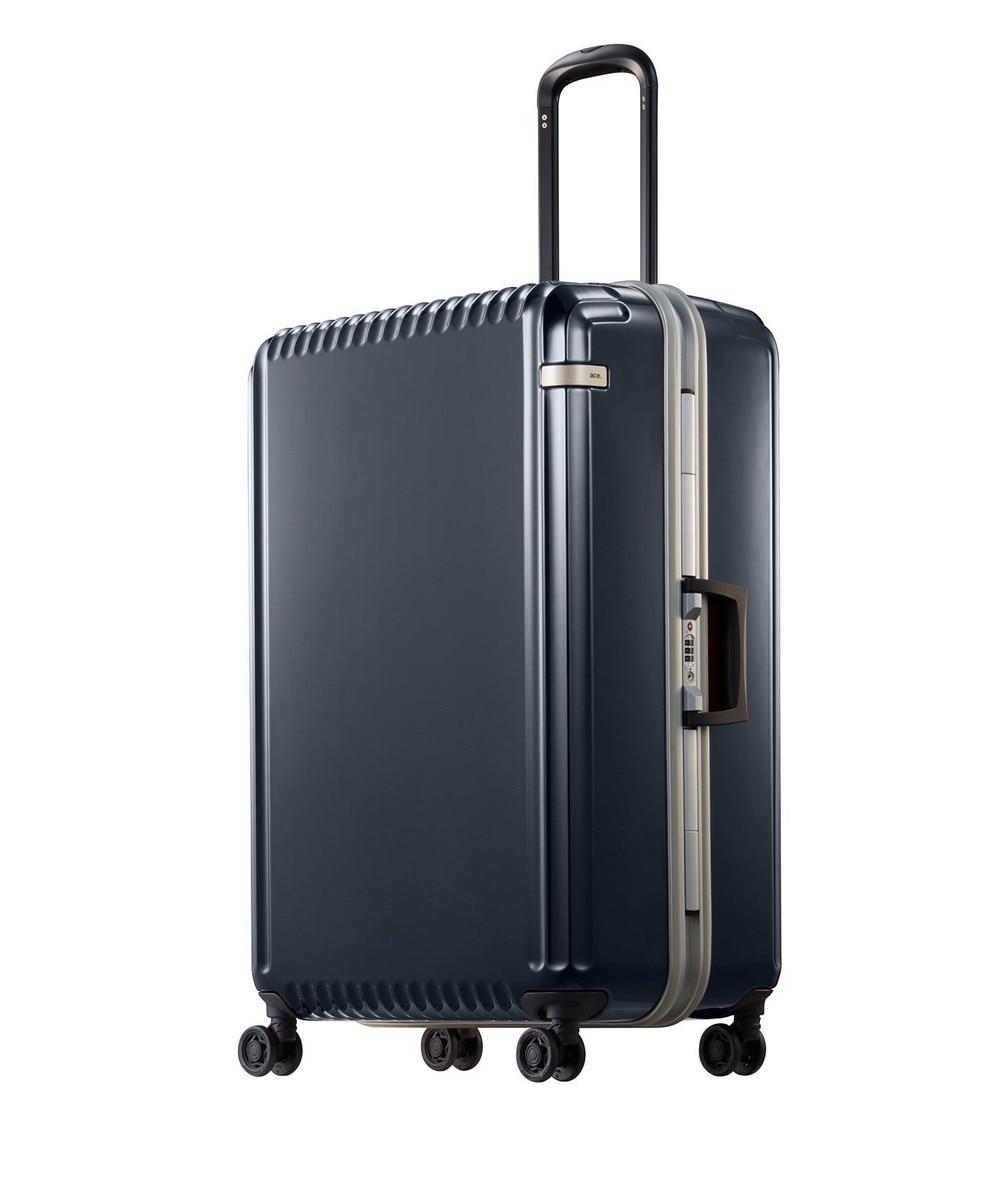 【オンワード】 ACE BAGS & LUGGAGE>バッグ ace. パリセイドF 90Lスーツケース 1週間〜10日間のご旅行にオススメ ホワイト F レディース 【送料無料】
