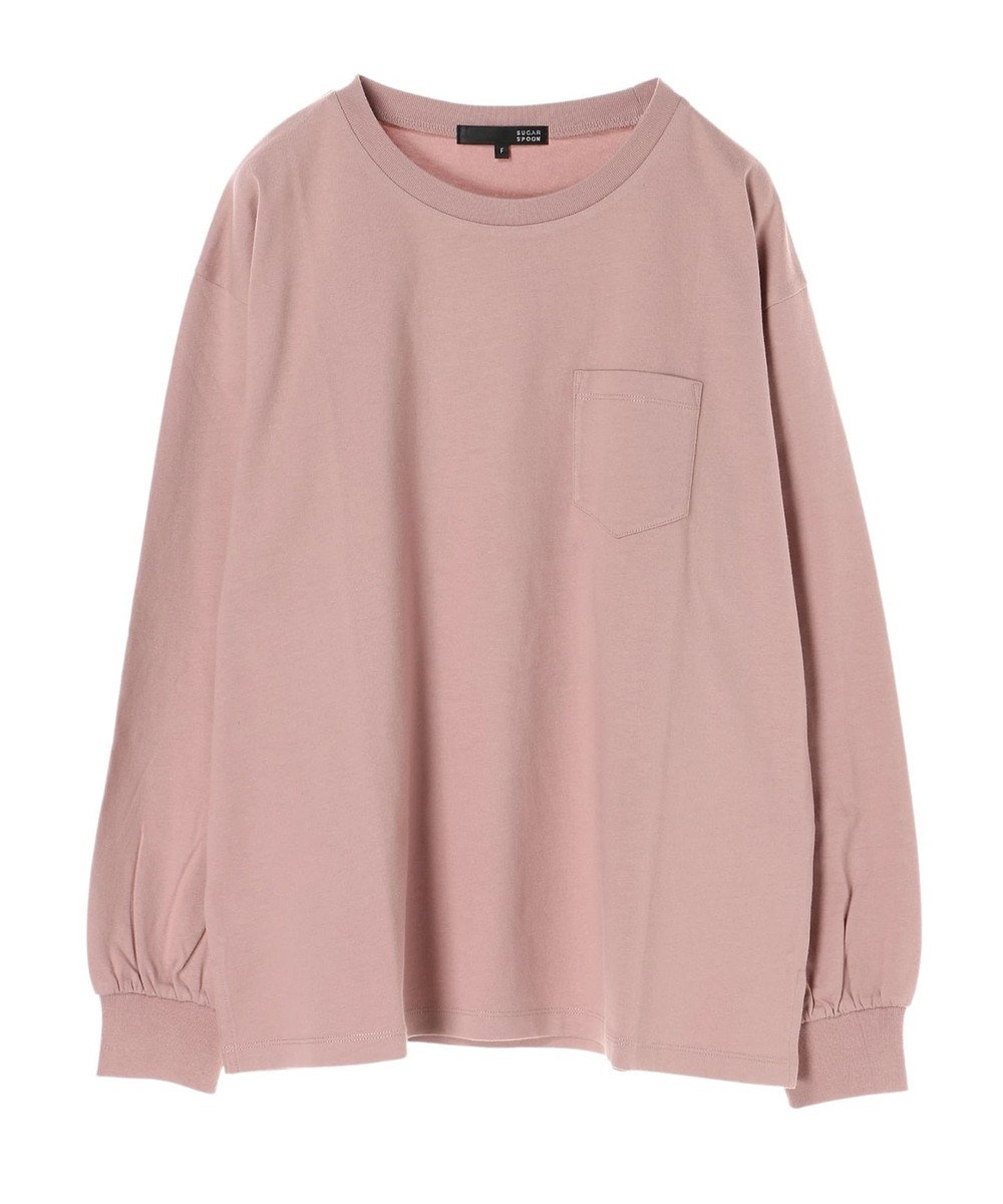 Green Parks ・ベーシックビッグロンT Pink
