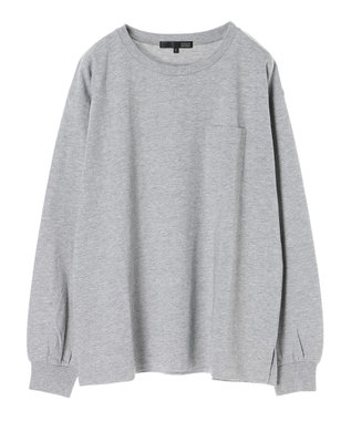 Green Parks ・ベーシックビッグロンT Gray Mixture
