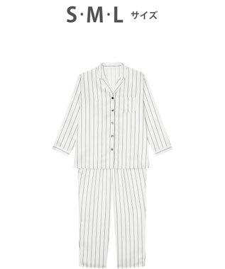 Wing 【パジャマ】 シャツスタイル ウイング/ワコール EP4900 アイボリー