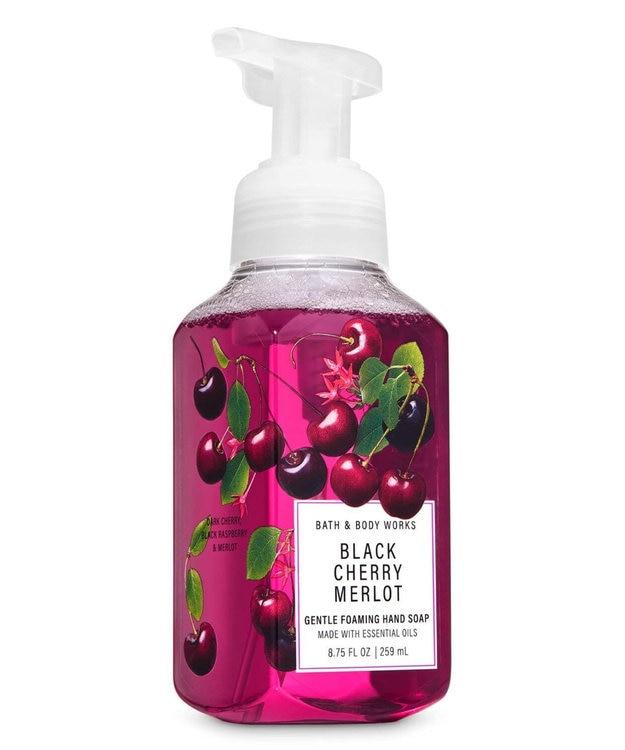 Import Cosme Selection 【Bath & Body Works】ハンドソープ - ブラックチェリーメルロー
