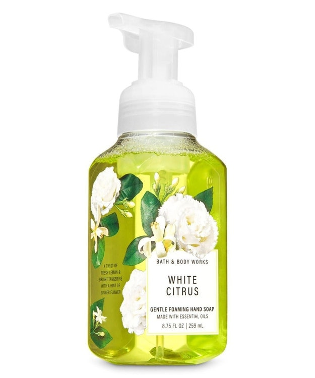 Import Cosme Selection 【Bath & Body Works】ハンドソープ - ホワイトシトラス