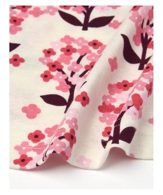 Wing 【パジャマ】綿100% ふんわりお花柄 ウイング/ワコール EP8050 ピンク