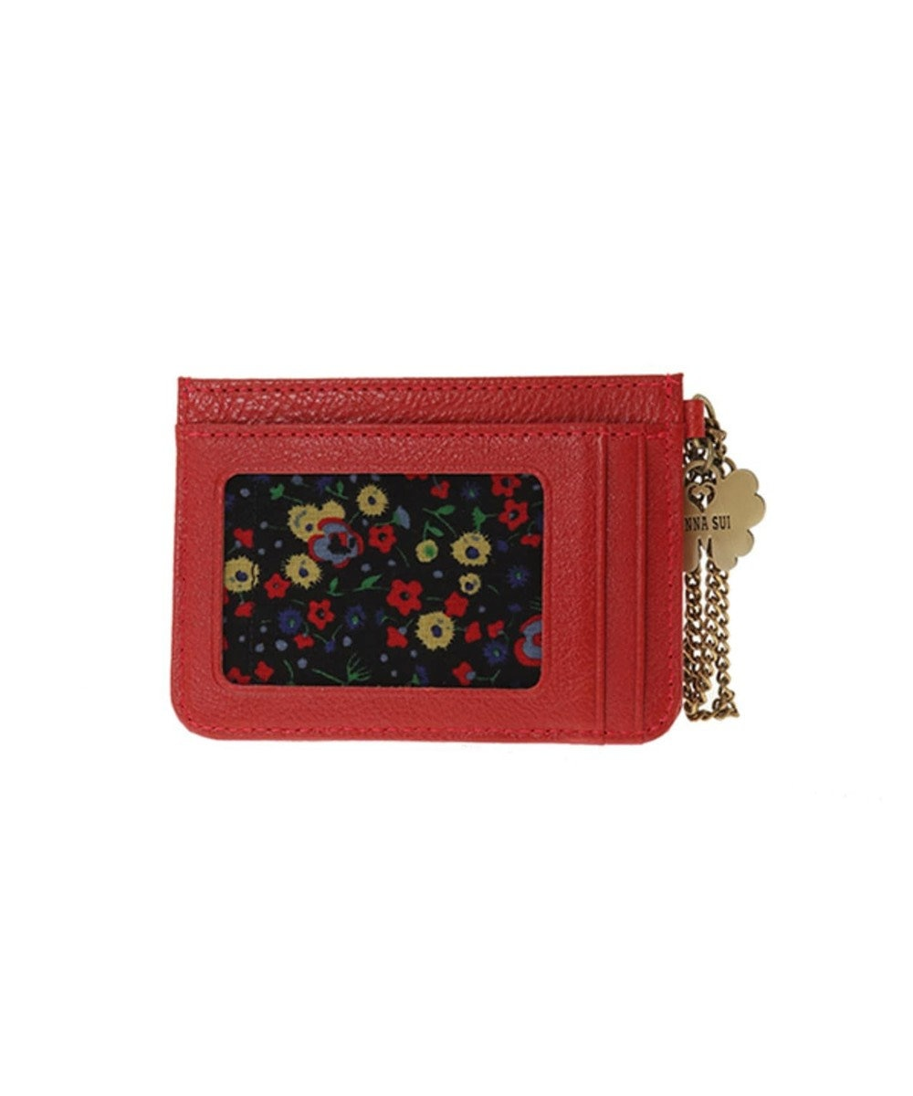 ANNA SUI ANNA SUI アナ スイ ダリア パスケース レッド