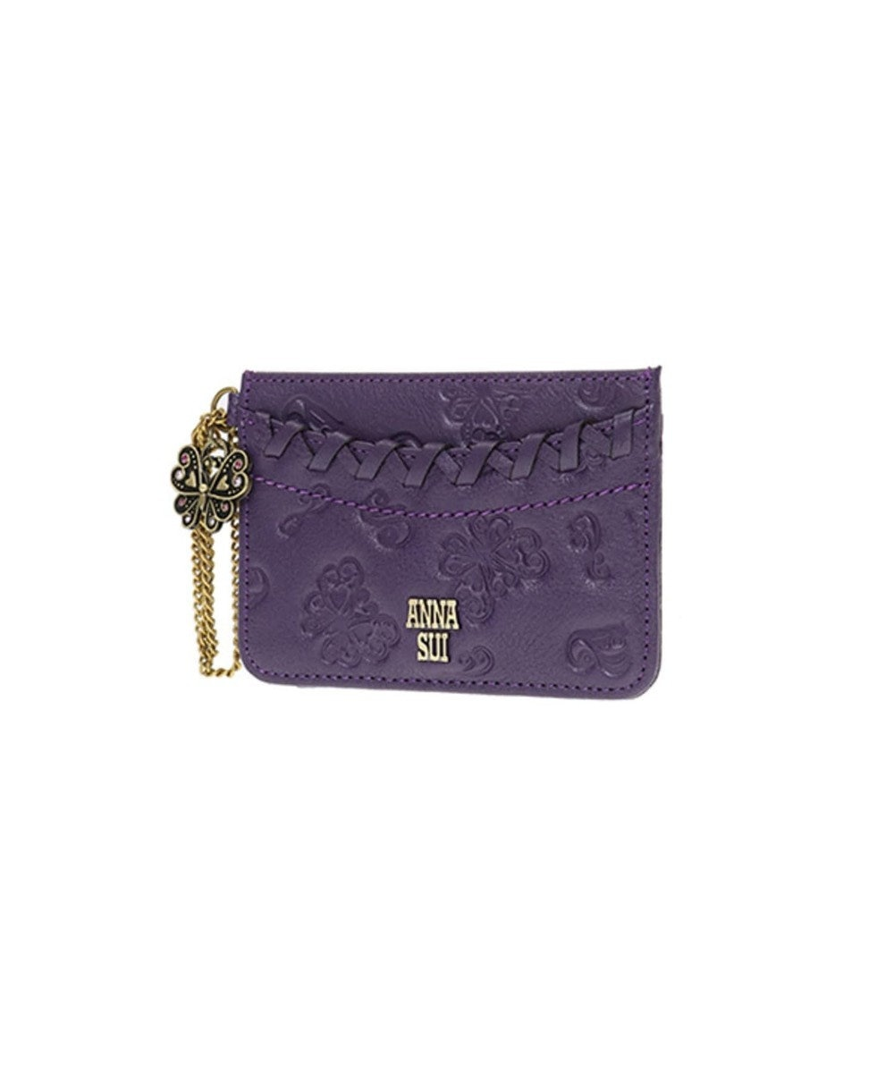ANNA SUI ANNA SUI アナ スイ ダリア パスケース パープル