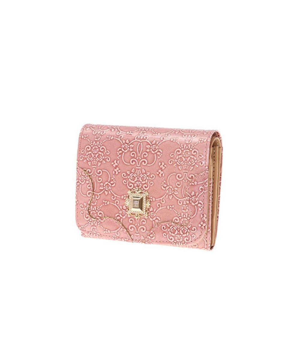 ANNA SUI ANNA SUI アナ スイ ルーミー 二つ折り財布 ピンク