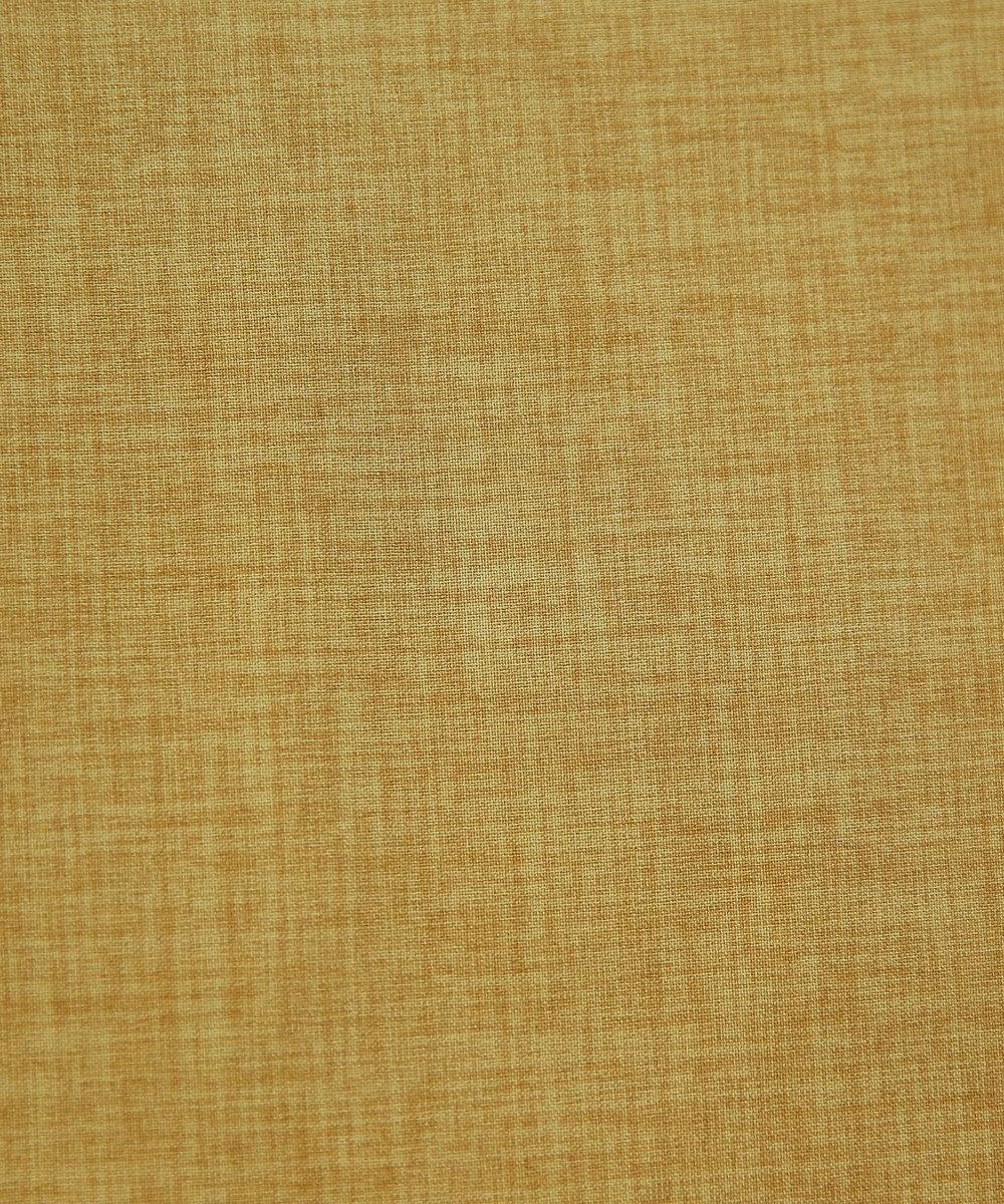 Tiaclasse フレアラインがきれいなフロントボタンワンピース グリッターイエロー