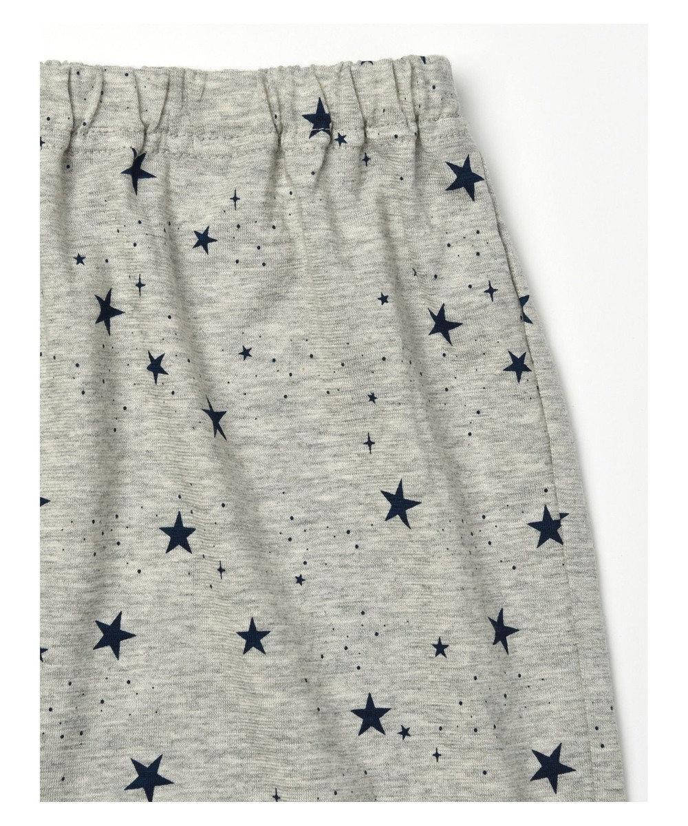 Wing 【メンズパジャマ】綿100% 星柄 ウイング/ワコール EG4906 チャコールグレー