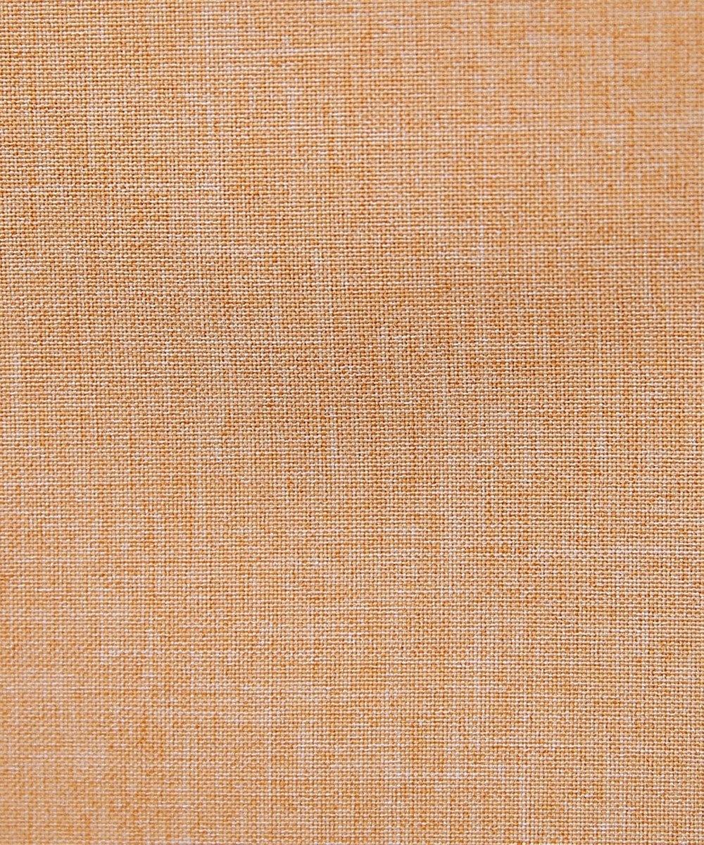 Tiaclasse 【洗える】発色がきれいな麻調ハシゴレースワンピース オレンジ