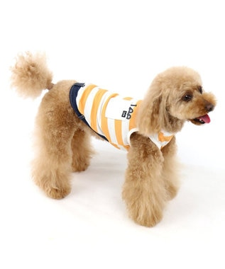 PET PARADISE Lee クールマックス ボーダータンク[小型犬] 0
