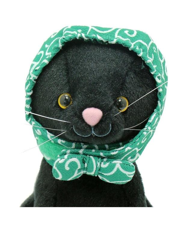PET PARADISE ネコネスト 猫用ほっかむり 唐草柄 フリー