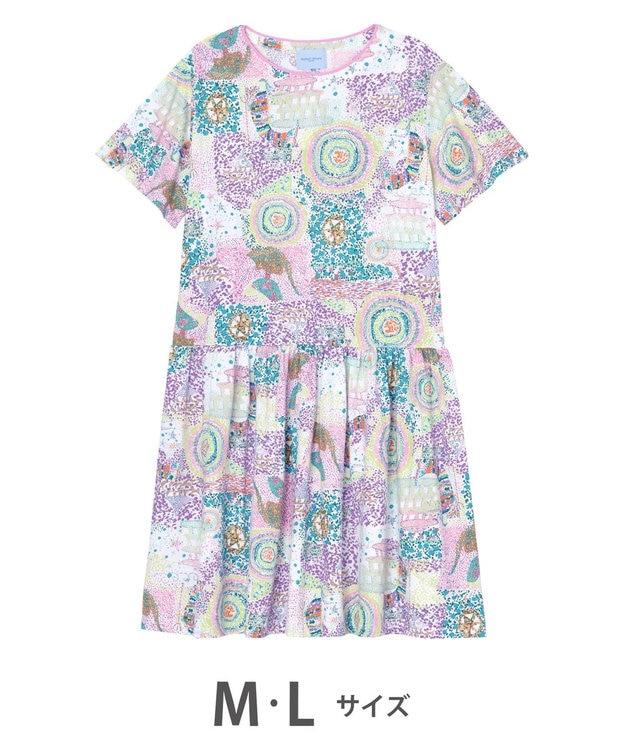 tsumori chisato SLEEP ワンピース  5分袖 綿100% パジャマ /ワコール