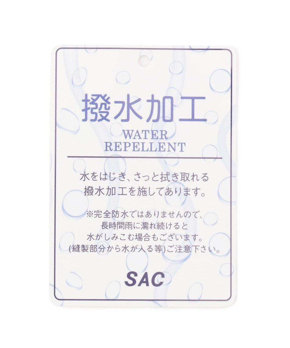 SAC 撥水ナイロン 巾着2WAYショルダーM  Three by sac  ニール パープル