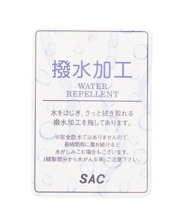 SAC 撥水ナイロン 巾着2WAYショルダーM  Three by sac  ニール