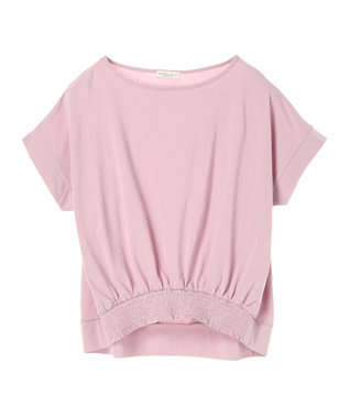 earth music&ecology かわいい人デコカットソー Light Pink
