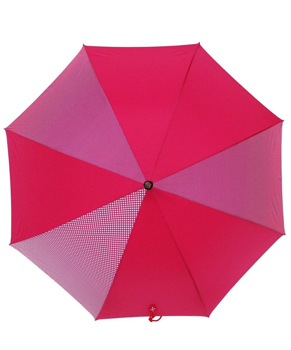 +RING 【プラスリング】数量限定 レディース向け長傘60cm PNK-DOT T715 ピンク
