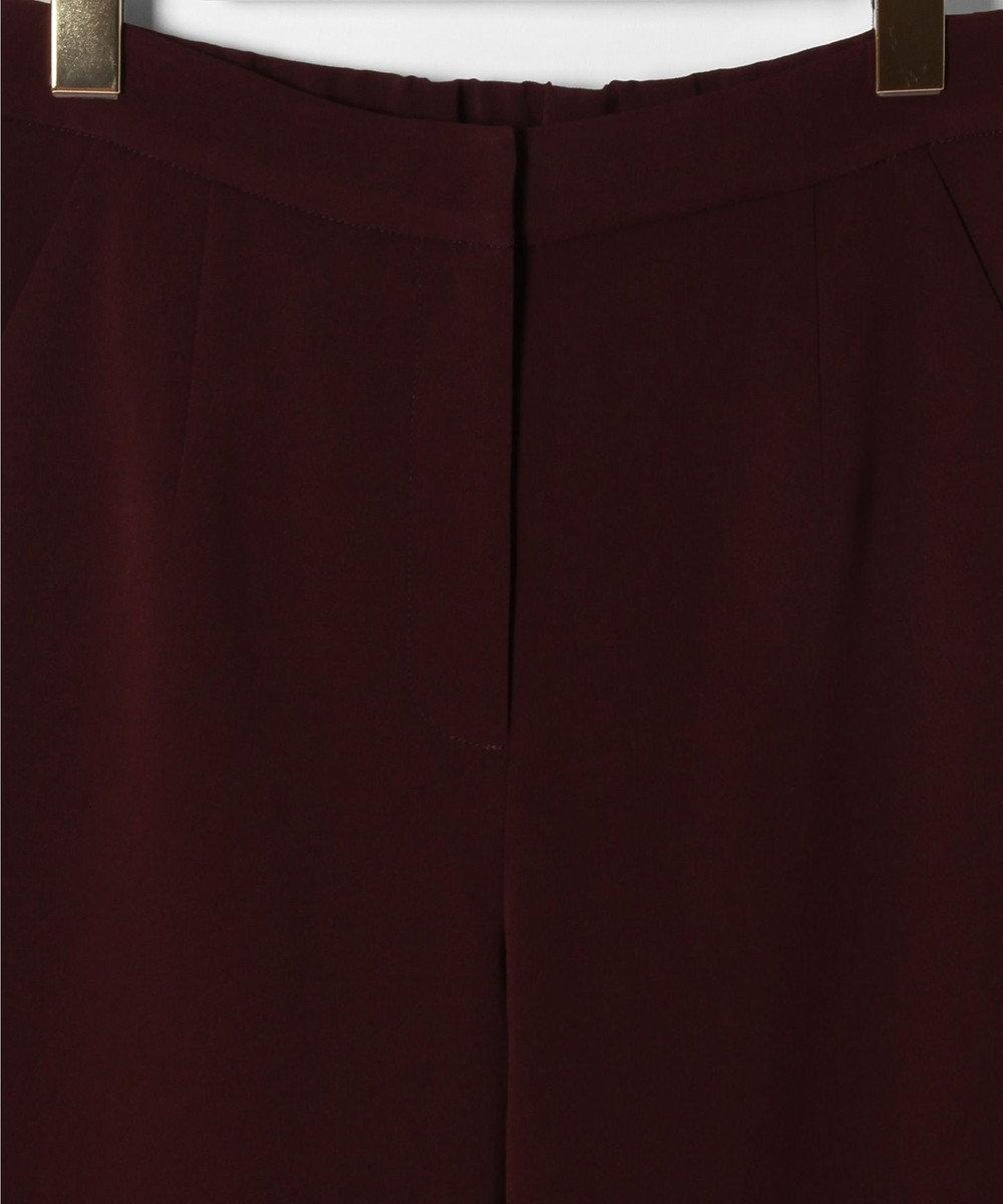 GRACE CONTINENTAL ベルボトムレトロパンツ ボルドー