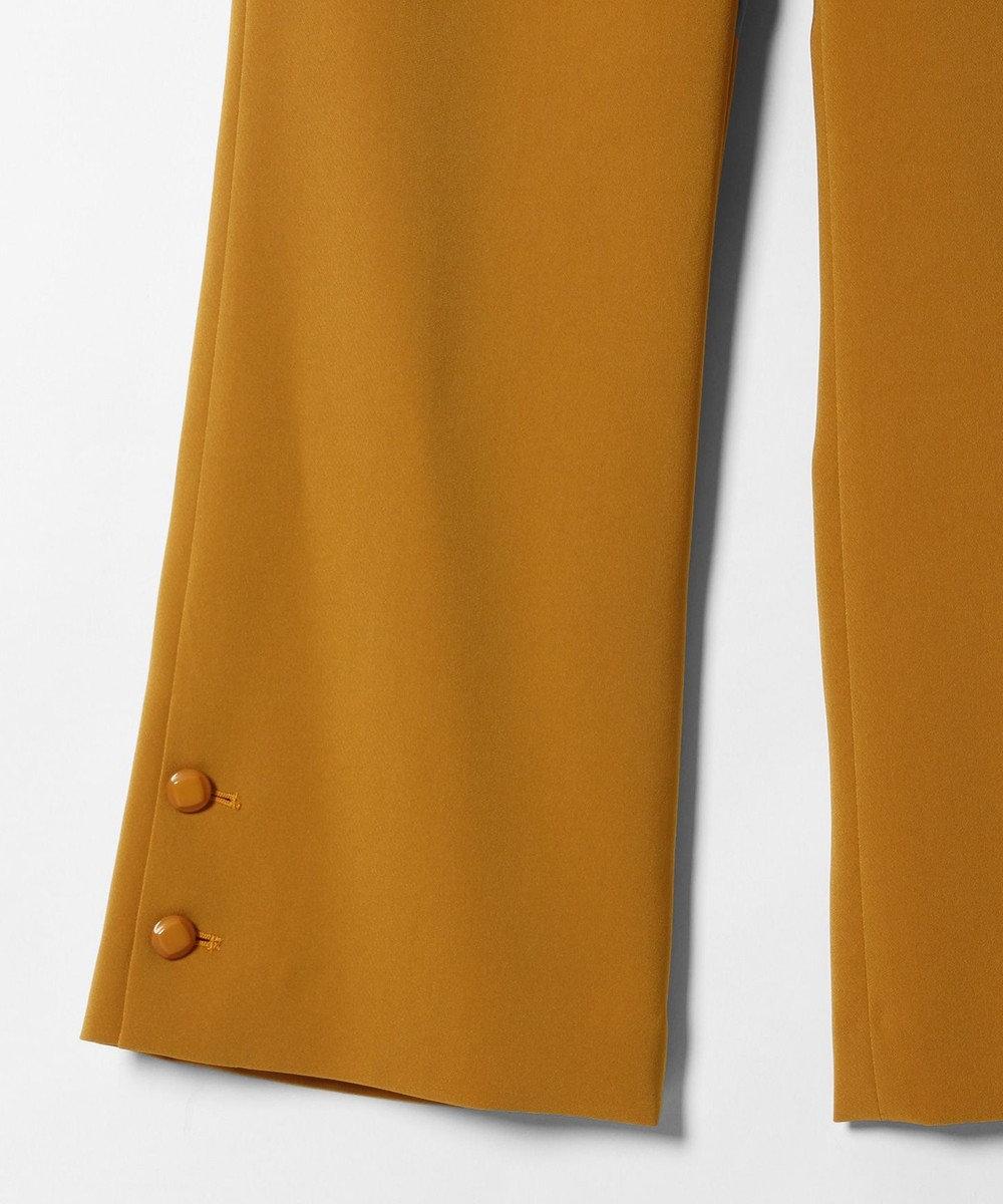 GRACE CONTINENTAL ベルボトムレトロパンツ イエロー