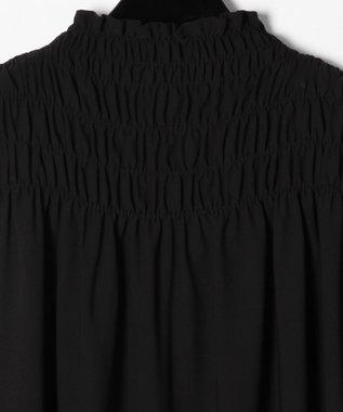 GRACE CONTINENTAL シャーリングノースリーブ ブラック
