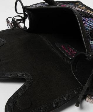 GRACE CONTINENTAL MS マルチ刺繍バッグ5 ブラック