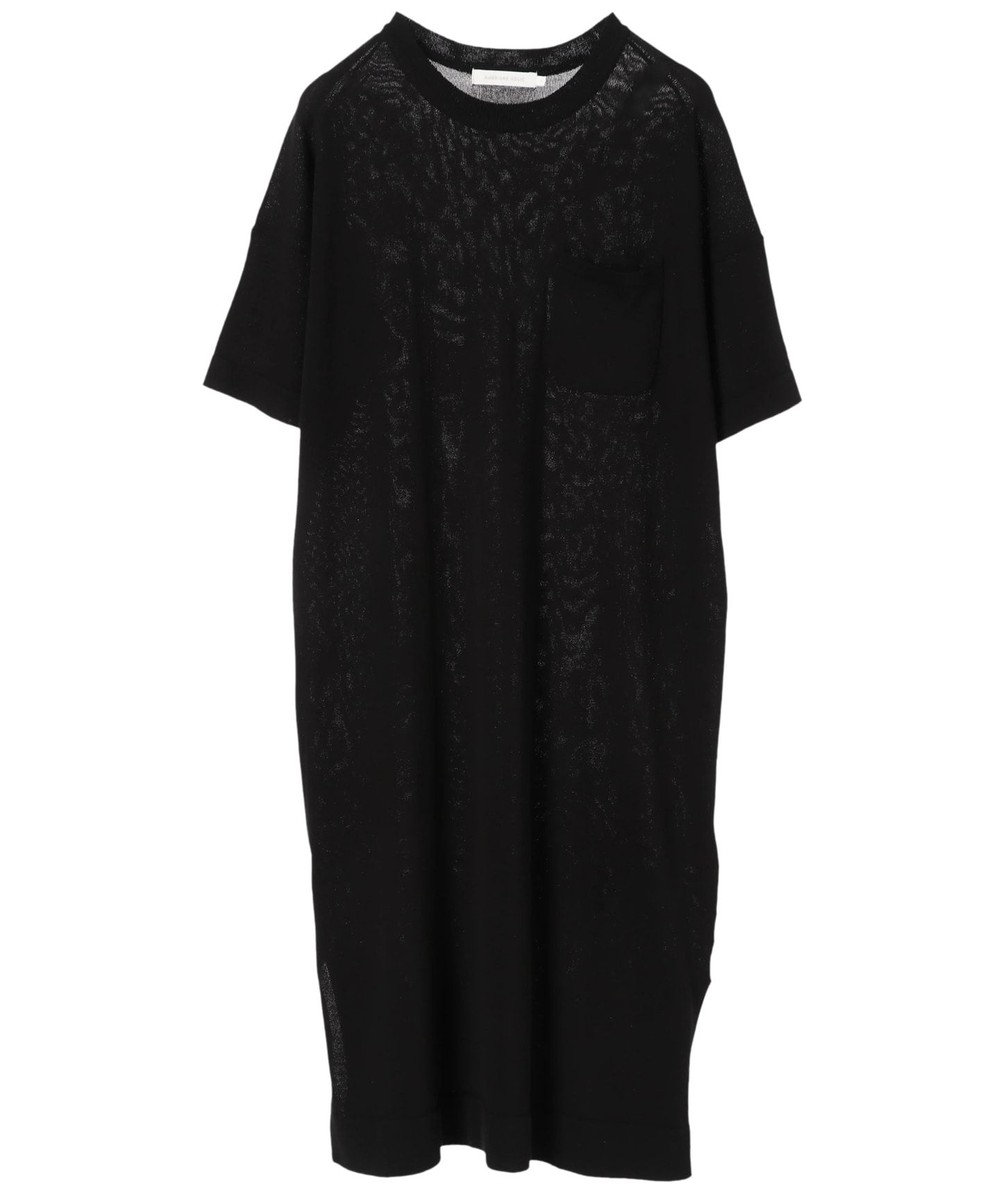AMERICAN HOLIC ポケット付裾スリットワンピース Black