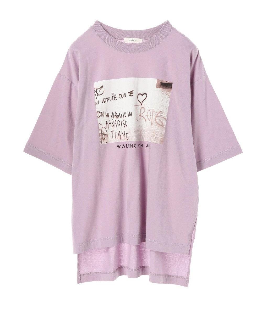 Green Parks ・WEARS フォトptTシャツチュニック Purple