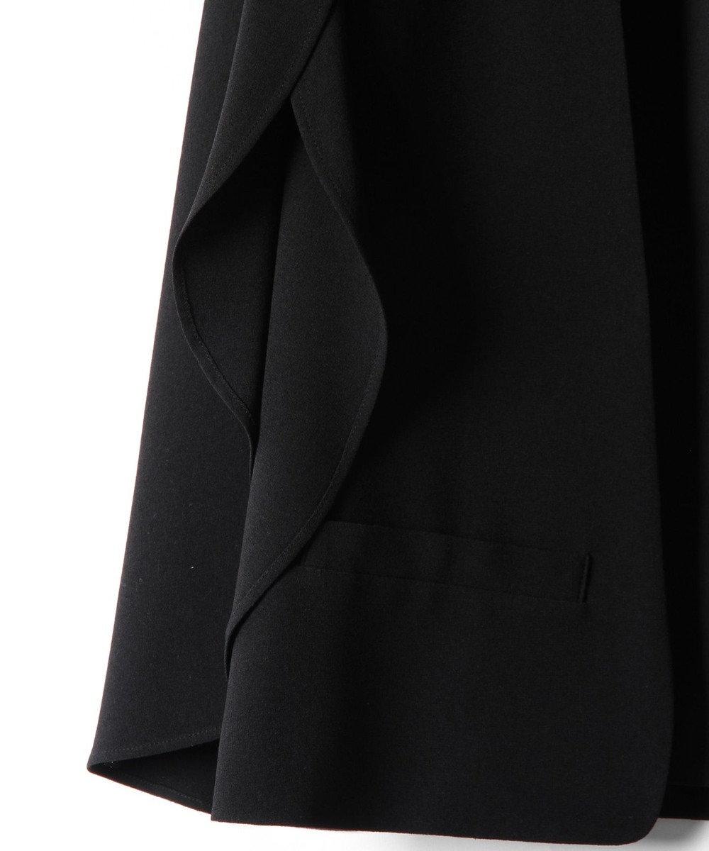 GRACE CONTINENTAL スリットスリーブジャケット ブラック