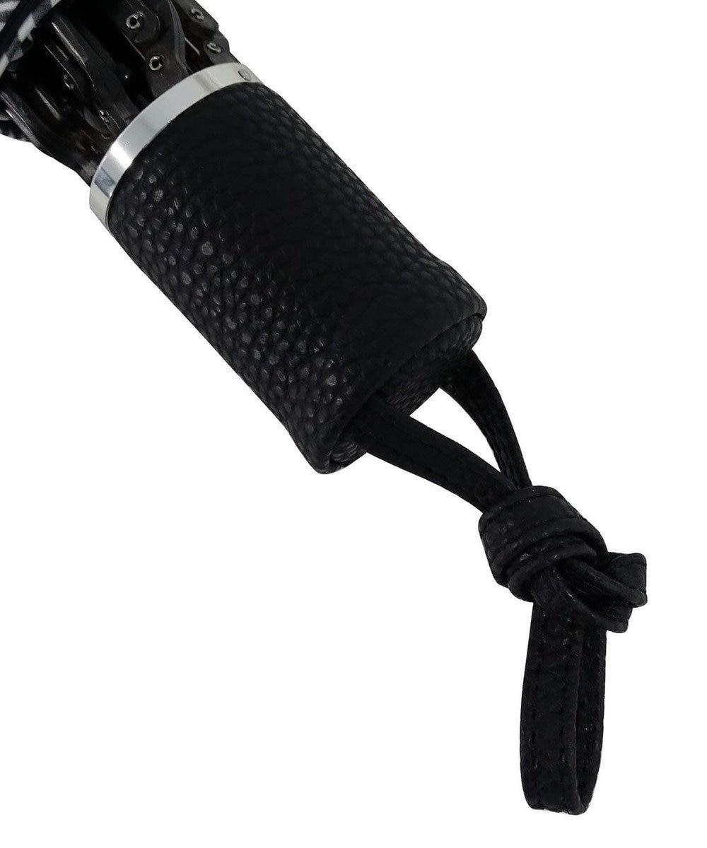+RING 【プラスリング】数量限定 UNISEX 折傘55cm BLK-STP T734 黒