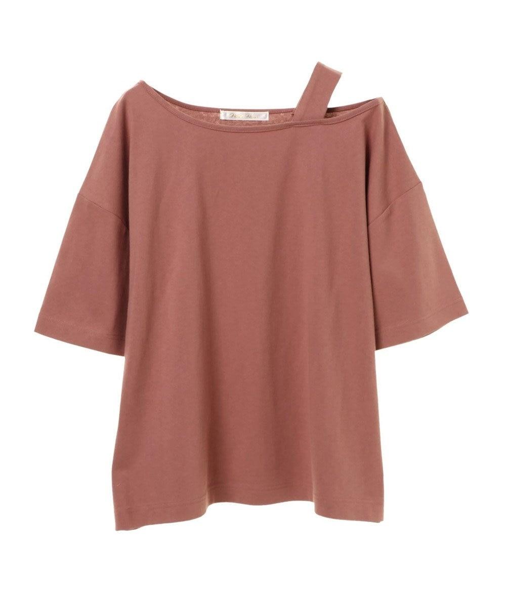 Green Parks ・PetitFleur ワンショルダーストラップTシャツ Pink