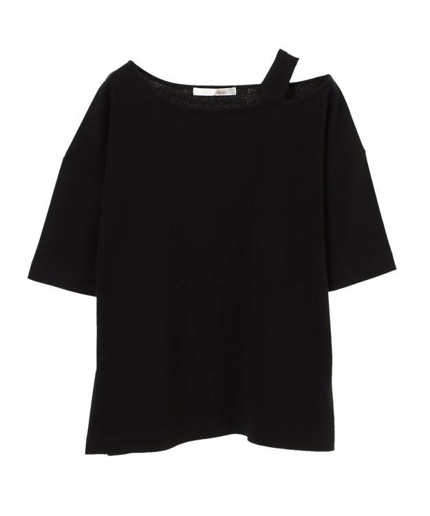 Green Parks ・PetitFleur ワンショルダーストラップTシャツ