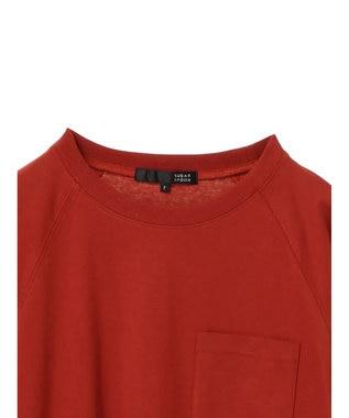 Green Parks ・ポケット付5分袖ワイドラグランTシャツ Off White