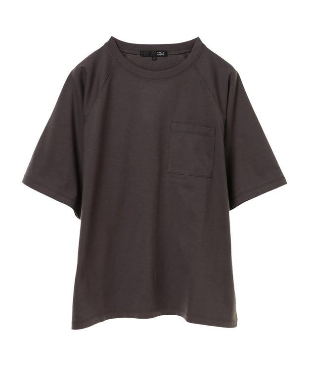 Green Parks ・ポケット付5分袖ワイドラグランTシャツ