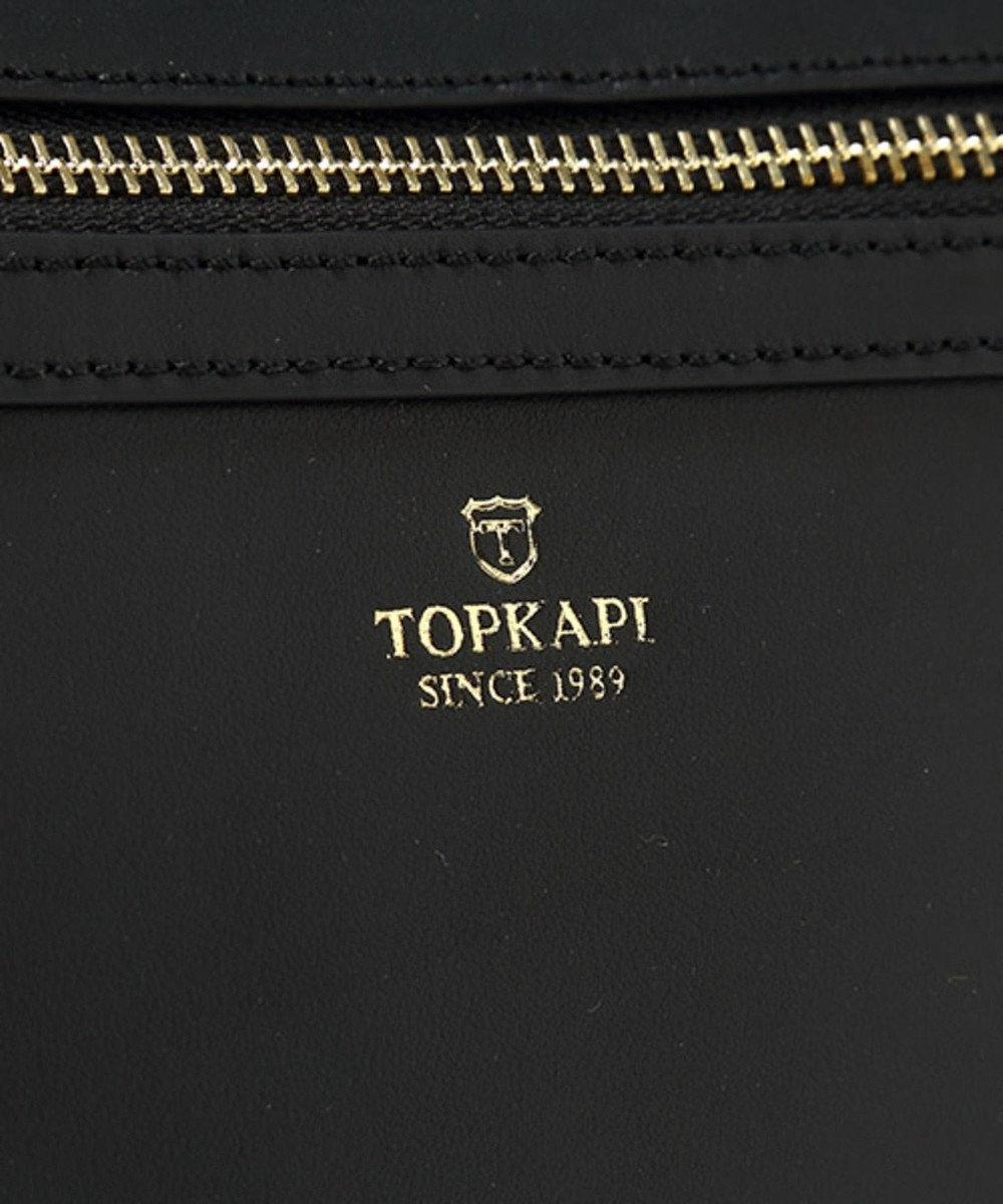 TOPKAPI モザイクエンボスレザー2wayショルダーバッグ MOSAICO モザイク ブラック