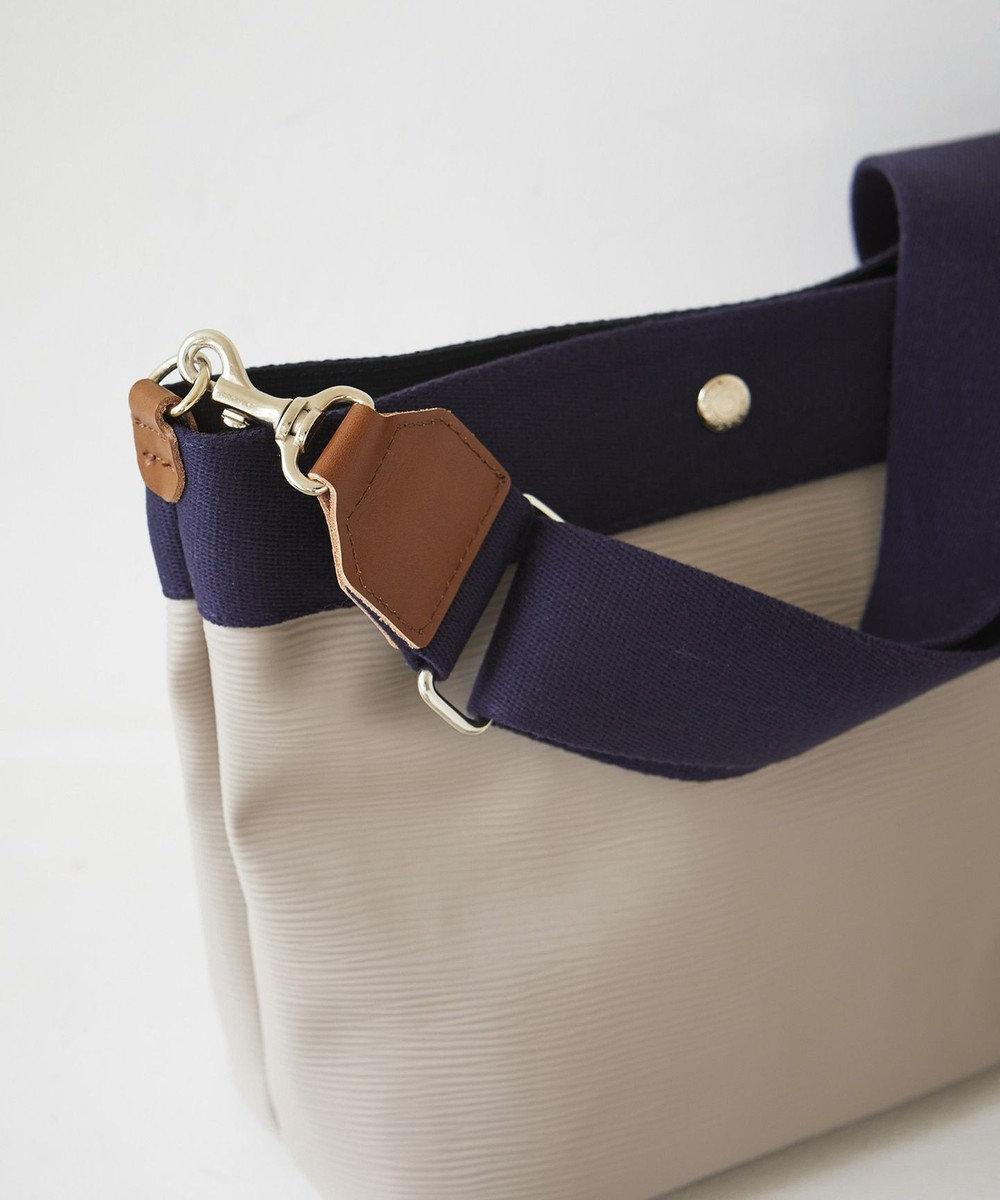 TOPKAPI [トプカピ ブレス] リプルネオレザーショルダーバッグ グレージュ