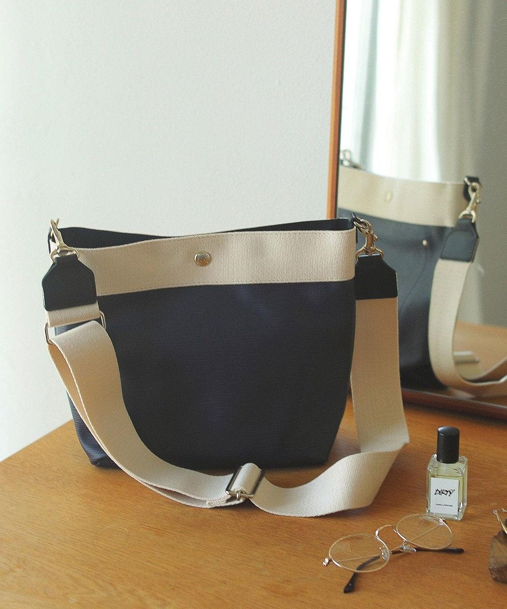 TOPKAPI [トプカピ ブレス] リプルネオレザーショルダーバッグ マリンブルー