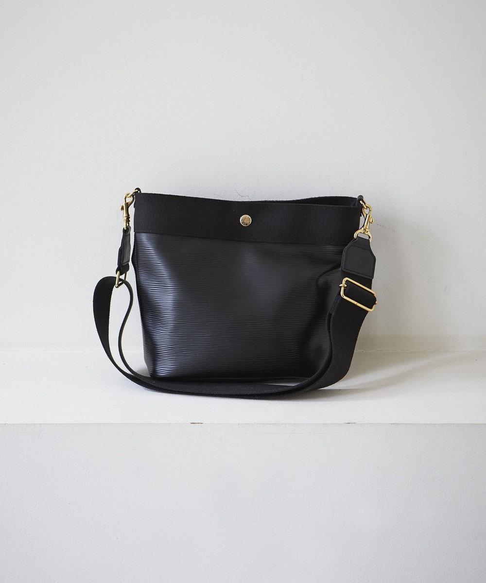 TOPKAPI [トプカピ ブレス] リプルネオレザーショルダーバッグ ブラック