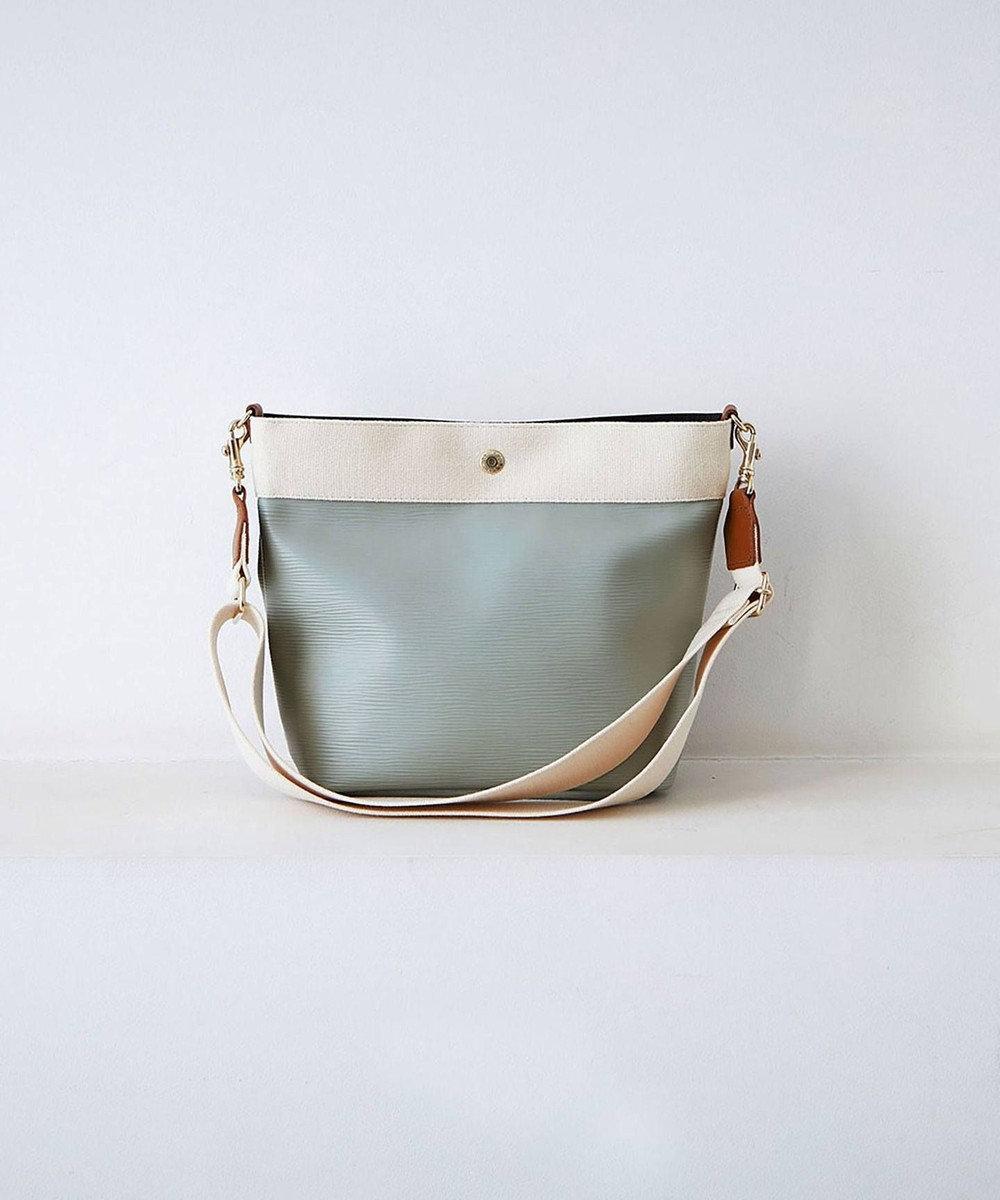 TOPKAPI [トプカピ ブレス] リプルネオレザーショルダーバッグ グリーングレー