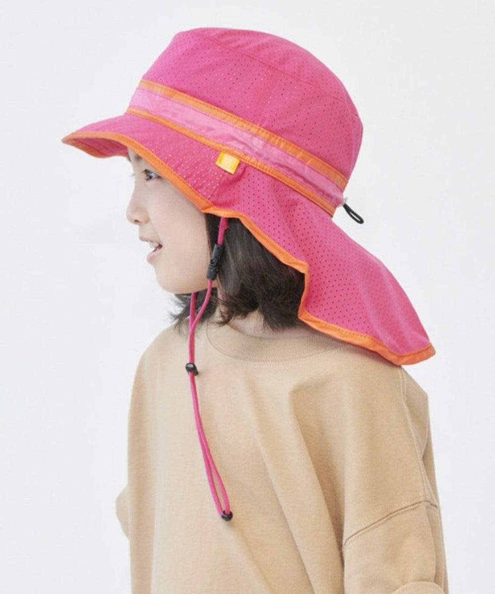 Hat Homes 【キッズ】ビーディージェム ギャオポケポケハット ピンク