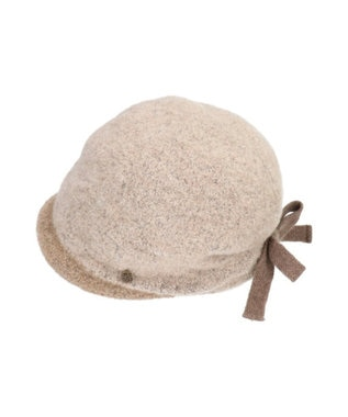 Hat Homes 【竹内海南江 】ブークレバスクフード ダークグレー