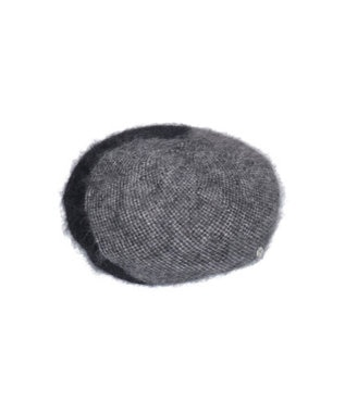 Hat Homes 【レディース】竹内海南江 3カラーアンゴラベレー 黒