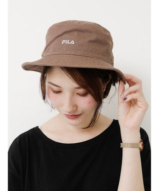 earth music&ecology FILA バケットハット Brown