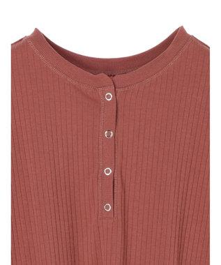 Green Parks ・Ray Cassin 2wayヘンリーネックTシャツ Ivory