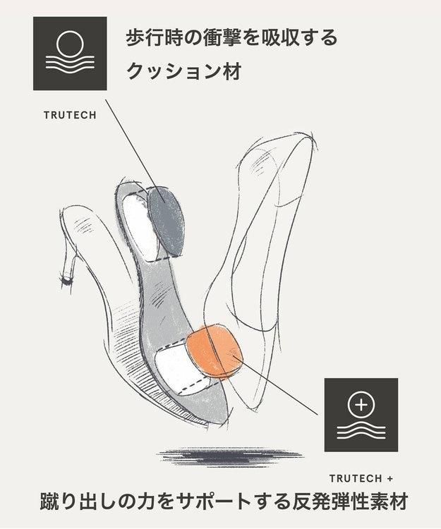ROCKPORT 【WOMEN】トータルモーション 75mm ポインティー トゥ ヒール パンプス