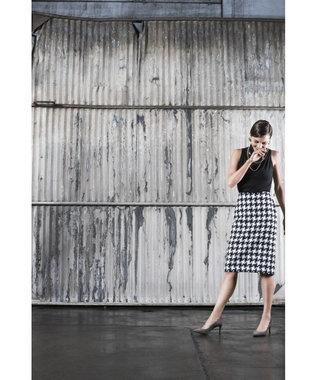 ROCKPORT 【WOMEN】トータルモーション 75mm ポインティー トゥ ヒール スカラップ グレー