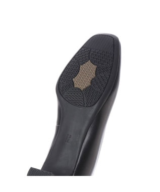 ing <ing>【3.5cmヒール】ブラックプレーンパンプス ブラック